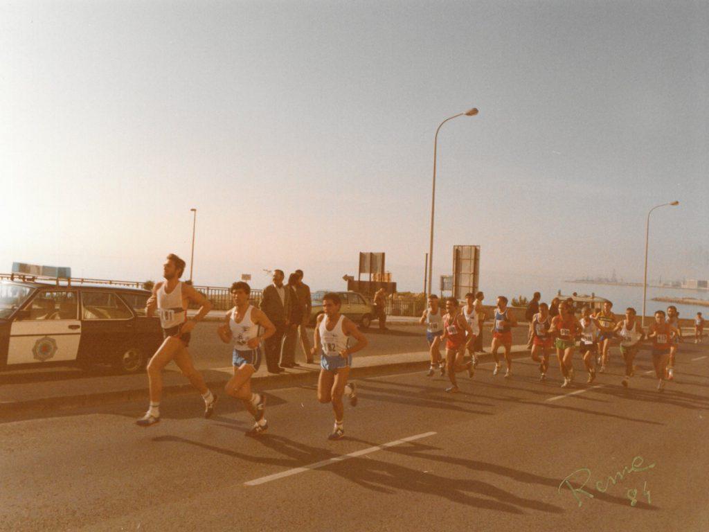 Media maratón 1984
