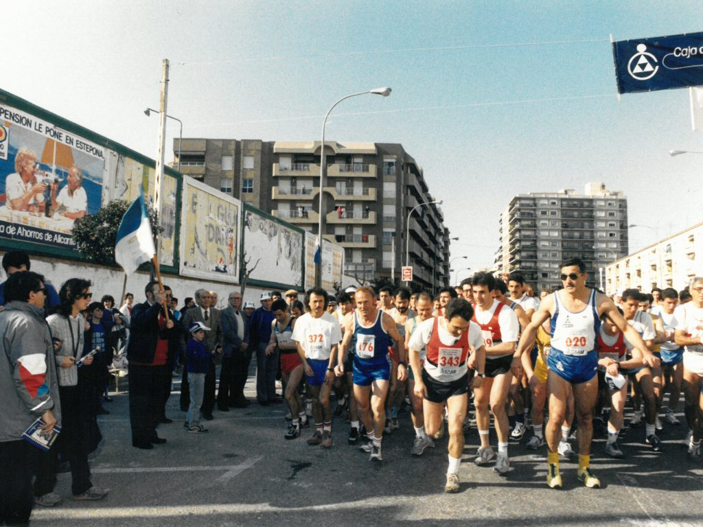 Media maratón 1988